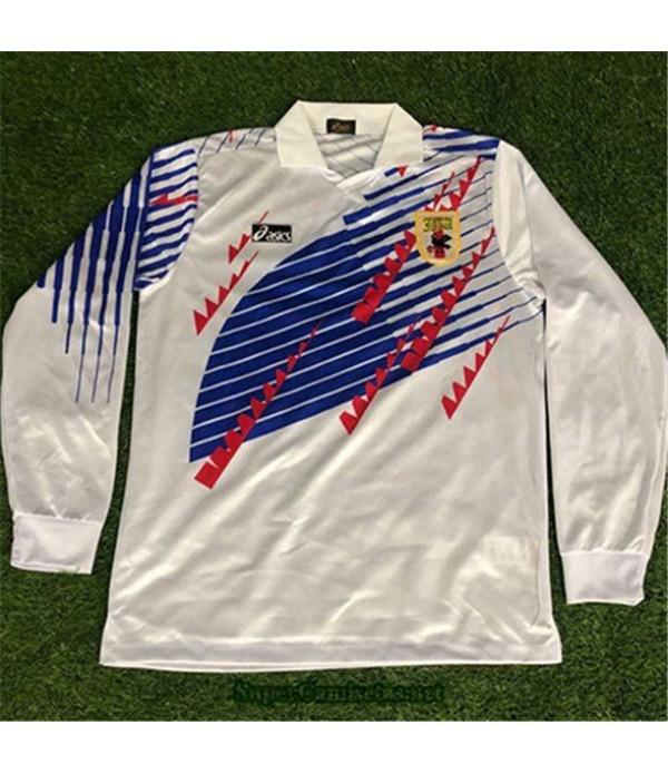 Tailandia Segunda Camisetas Clasicas Japon Hombre Manga Larga 1994