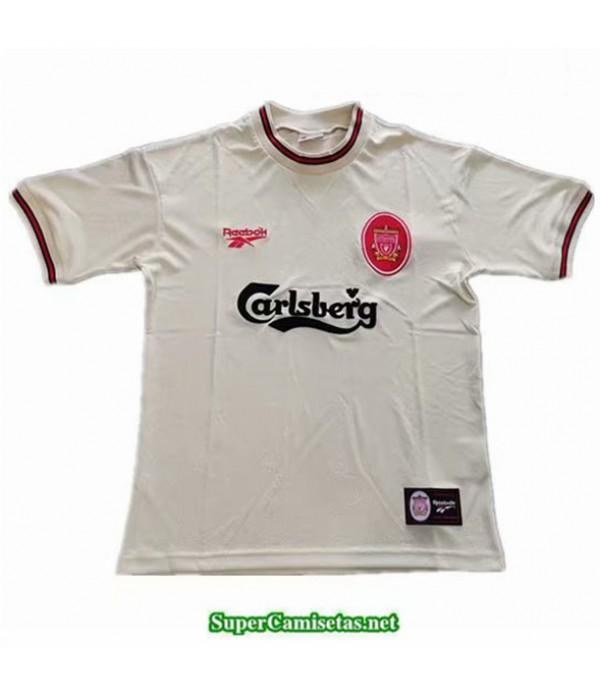 Tailandia Segunda Camisetas Clasicas Liverpool Hombre 1996 1997
