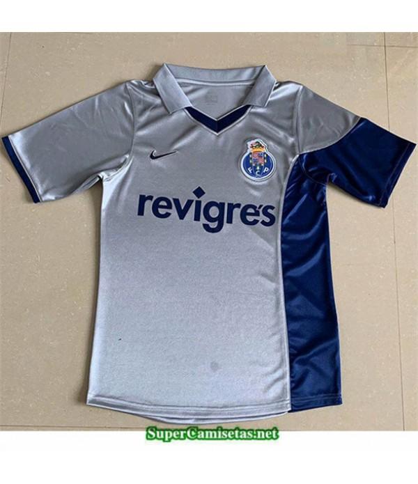 Tailandia Segunda Camisetas Clasicas Oporto Hombre 2001