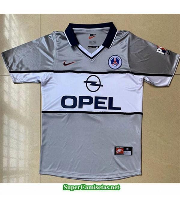 Tailandia Segunda Camisetas Clasicas Psg Hombre 2000