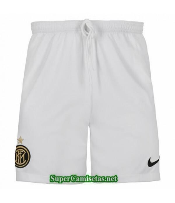 Tailandia Segunda Camisetas Inter Milan Pantalones Blanco 2019/20