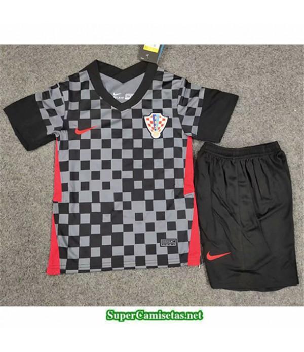 Tailandia Segunda Equipacion Camiseta Croatia Niños 2020/21