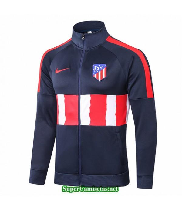 Tailandia Camiseta Atletico Madrid Chaqueta Azul Oscuro/rojo/blanco 2020/21