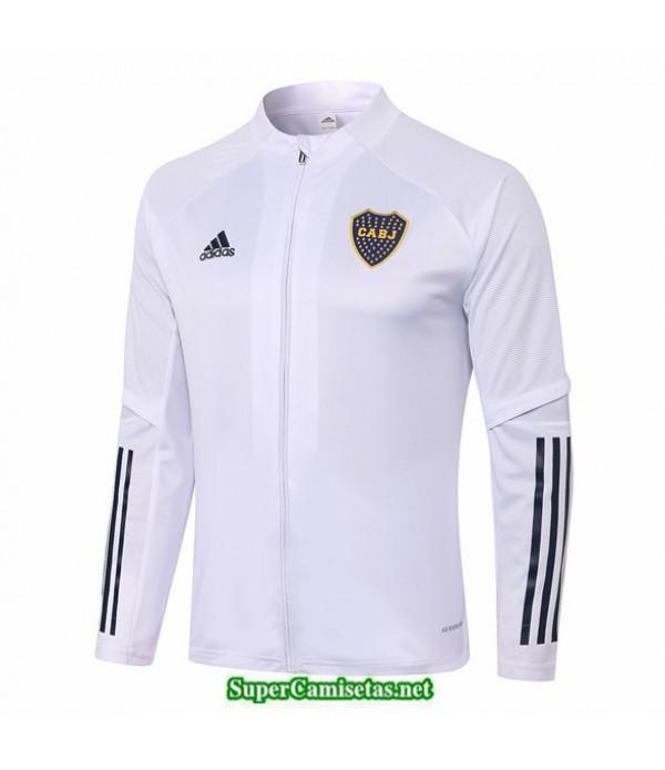 Tailandia Camiseta Boca Juniors Chaqueta Blanco 2020/21
