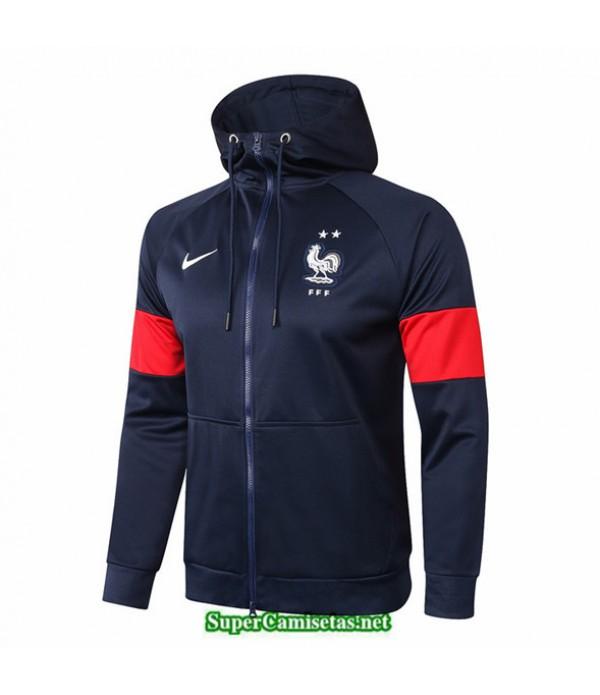 Tailandia Camiseta Francia Chaqueta Sombrero Azul Marino 2020/21