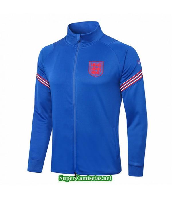 Tailandia Camiseta Inglaterra Chaqueta Azul 2020/21