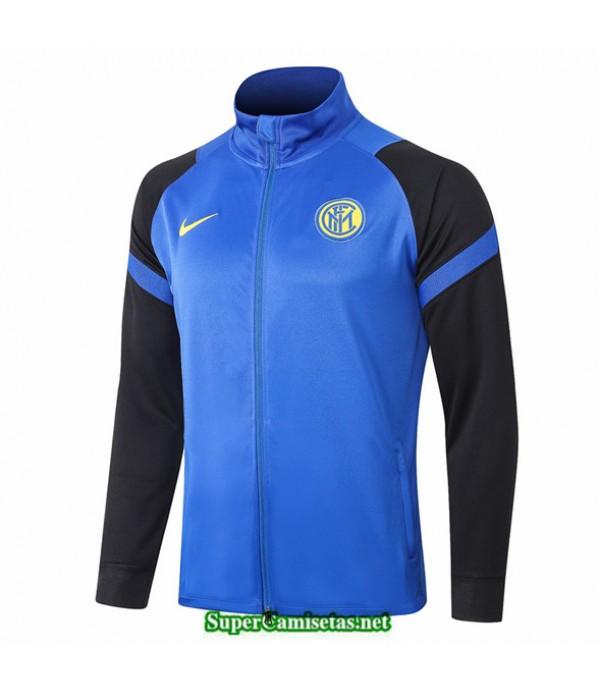 Tailandia Camiseta Inter Milan Chaqueta Azul Azul Oscuro 2020/21