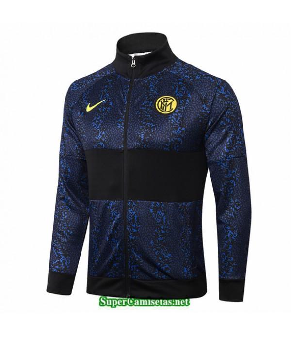 Tailandia Camiseta Inter Milan Chaqueta Azul Oscuro/negro 2020/21