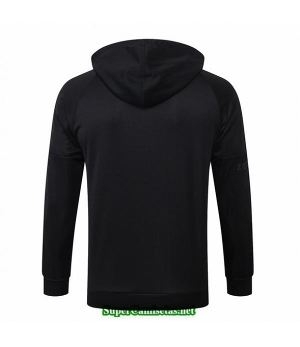 Tailandia Camiseta Jordan Chaqueta Sombrero Negro 2020/21