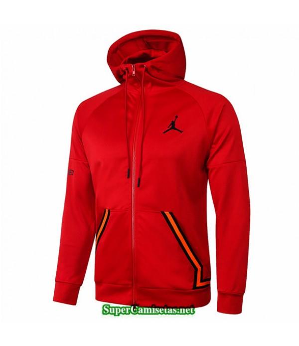 Tailandia Camiseta Jordan Chaqueta Sombrero Rojo 2020/21