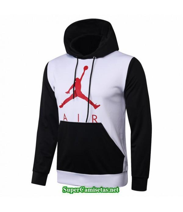 Tailandia Camiseta Jordan Sudadera Con Capucha Blanco/negro 2020/21