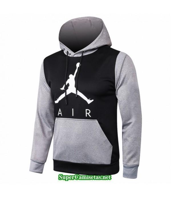 Tailandia Camiseta Jordan Sudadera Con Capucha Negro/gris 2020/21