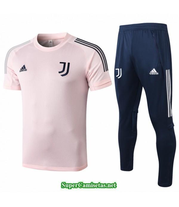 Tailandia Camiseta Kit De Entrenamiento Juventus Rosa 2020/21