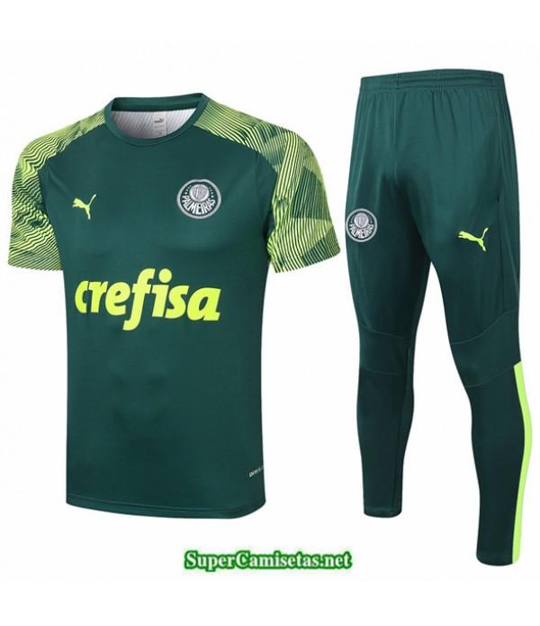 Tailandia Camiseta Kit De Entrenamiento Palmeiras Verde Oscuro 2020/21