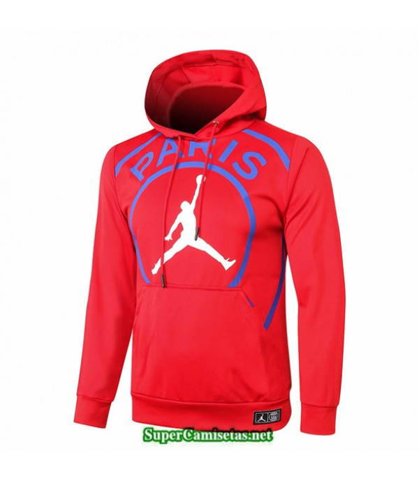 Nuevo Tailandia Camiseta Psg Jordan Sudadera Con Capucha Rojo 2020/21 baratas   supercamisetas