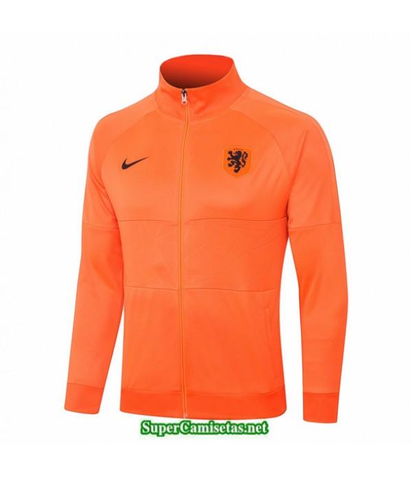 Tailandia Camiseta Países Bajos Chaqueta Naranja 2020/21