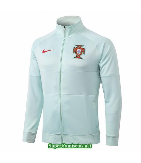 Tailandia Camiseta Portugal Chaqueta Verde Claro 2020/21