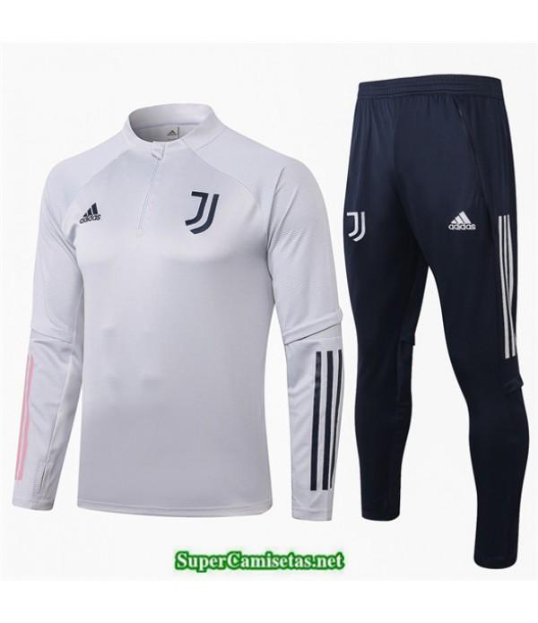 Tailandia Chandal Juventus Gris Claro 2020/21