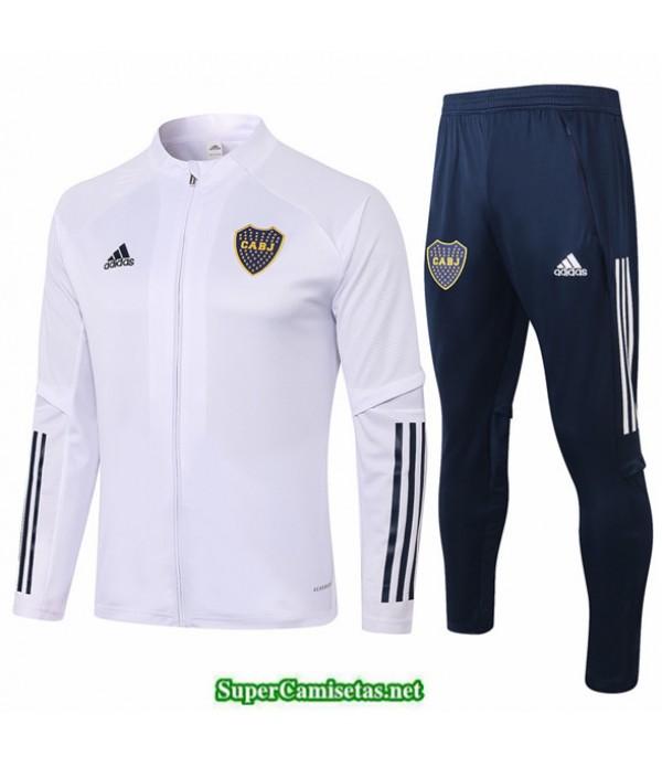 Tailandia Chaqueta Chandal Boca Juniors Blanco 2020/21