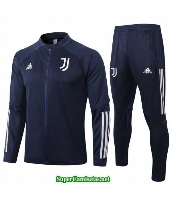 Tailandia Chaqueta Chandal Juventus Azul Oscuro 2020/21
