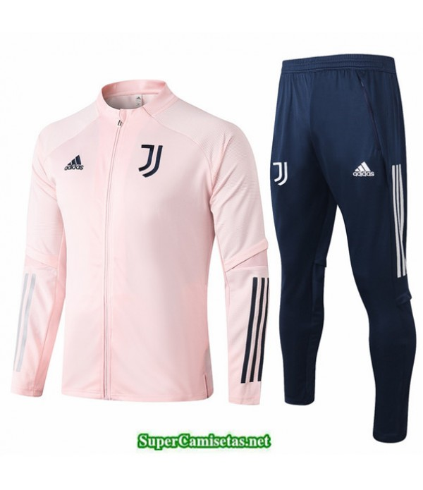 Tailandia Chaqueta Chandal Juventus Rosa 2020/21