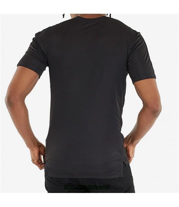 Tailandia Equipacion Camiseta Ac Milan Pre Match Negro 2020/21