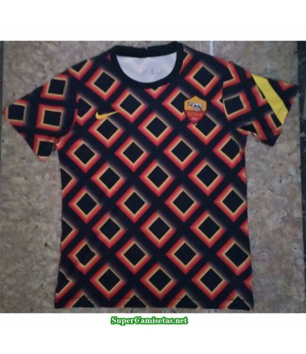 Tailandia Equipacion Camiseta As Roma Pre Match 2020/2120