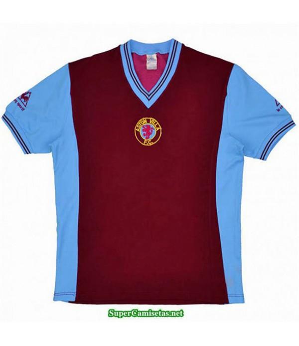 Tailandia Equipacion Camiseta Camisetas Clasicas Aston Villa Hombre Champions League 1981 82