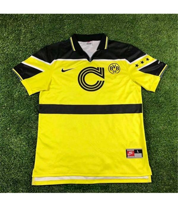 Tailandia Equipacion Camiseta Camisetas Clasicas Borussia Dortmund Hombre Champions League 1997