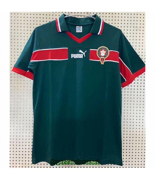 Tailandia Equipacion Camiseta Camisetas Clasicas Marruecos Hombre 1998