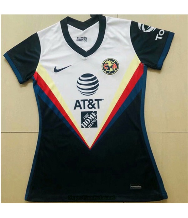 Tailandia Equipacion Camiseta Club America Mujer 2020/21