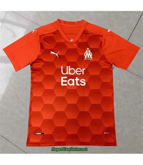 Tailandia Equipacion Camiseta Marsella Naranja 202...