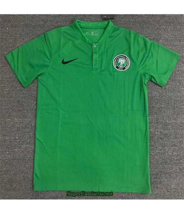 Tailandia Equipacion Camiseta Nigeria Polo Verde 2020/21
