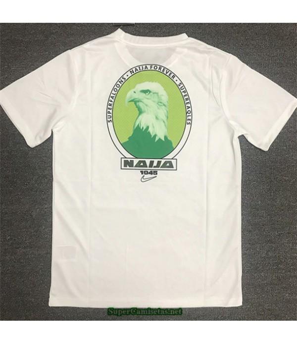 Tailandia Equipacion Camiseta Nigeria Casual Training Blanco 2020/21