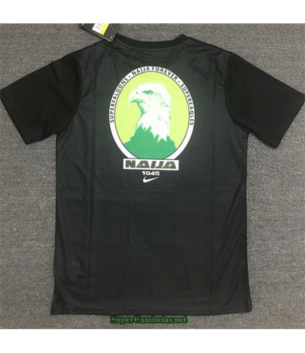 Tailandia Equipacion Camiseta Nigeria Casual Training Negro 2020/21