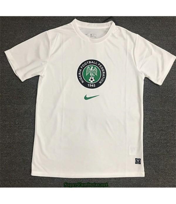 Tailandia Equipacion Camiseta Nigeria Training Blanco 2020/21
