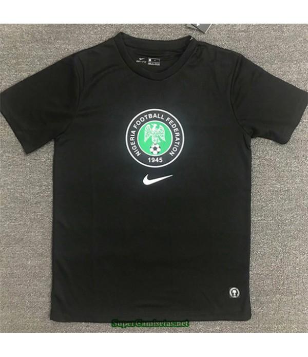 Tailandia Equipacion Camiseta Nigeria Training Negro 2020/21