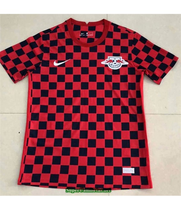 Tailandia Equipacion Camiseta Rb Leipzig Rojo 2020/21