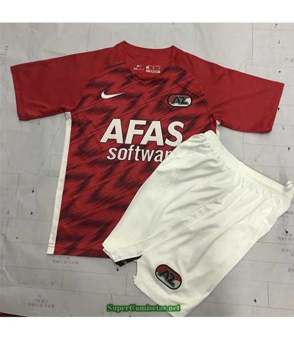 Tailandia Primera Equipacion Camiseta Az Alkmaar Niños 2020/21