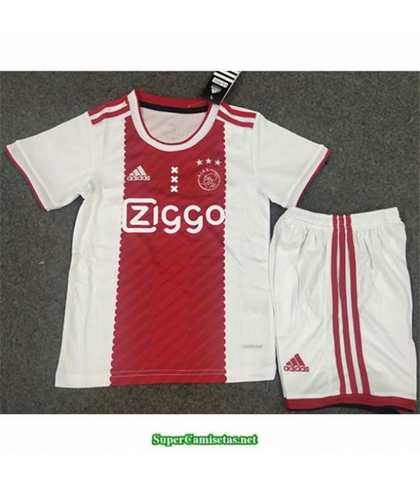 Tailandia Primera Equipacion Camiseta Ajax Niños 2020/21