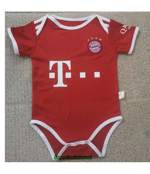 Tailandia Primera Equipacion Camiseta Bayern Munich Bebé 2020/21