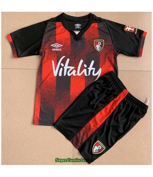 Tailandia Primera Equipacion Camiseta Bournemouth Niños 2020/21