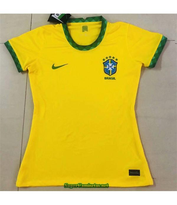 Tailandia Primera Equipacion Camiseta Brazil Mujer 2020/21