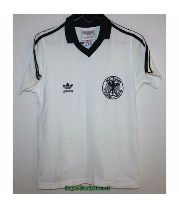 Tailandia Primera Equipacion Camiseta Camisetas Clasicas Alemania Hombre 1980