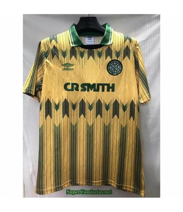Tailandia Primera Equipacion Camiseta Camisetas Clasicas Celtic Hombre 1991 92