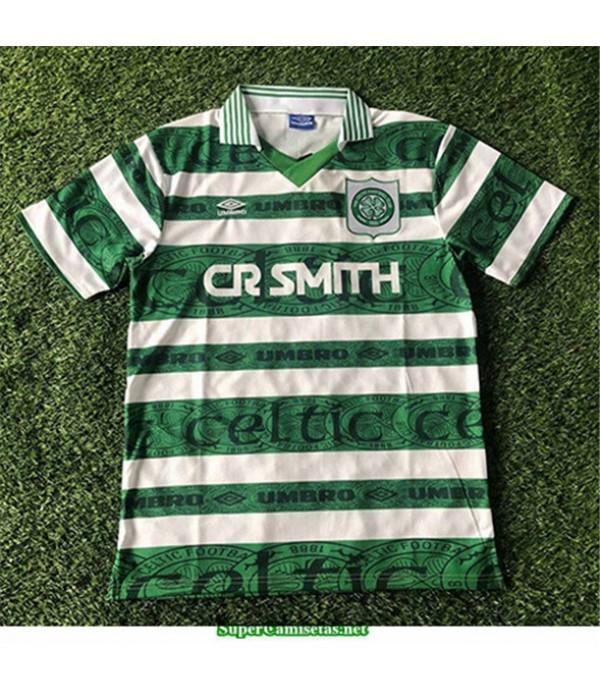 Tailandia Primera Equipacion Camiseta Camisetas Clasicas Celts Hombre 1995 97