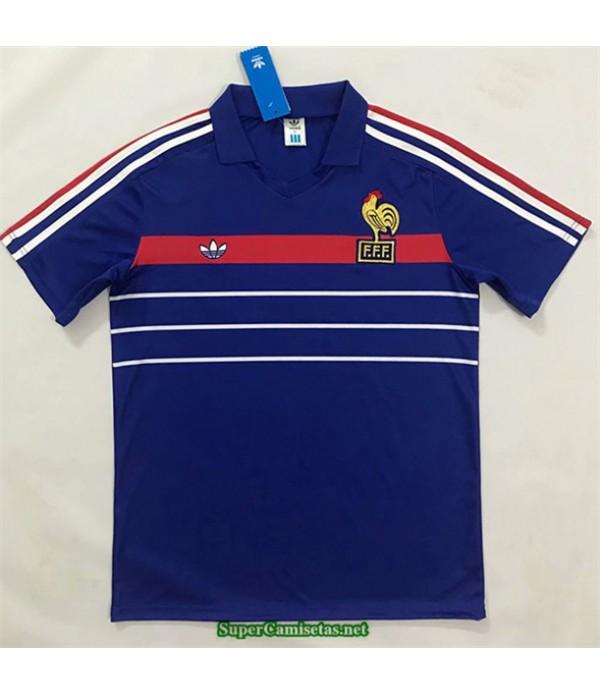 Tailandia Primera Equipacion Camiseta Camisetas Clasicas Francia Hombre European Champions 1984 1986