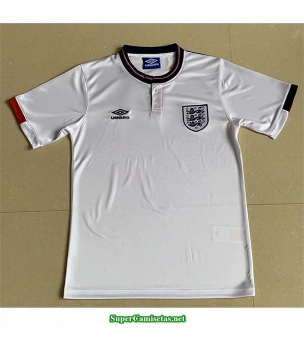 Tailandia Primera Equipacion Camiseta Camisetas Clasicas Inglaterra Hombre 1989