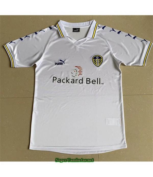 Tailandia Primera Equipacion Camiseta Camisetas Clasicas Leeds United Hombre 1999