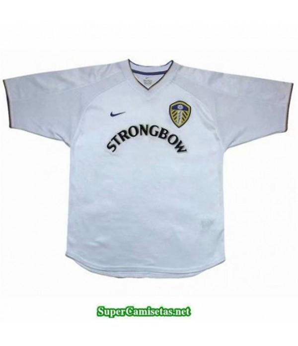 Tailandia Primera Equipacion Camiseta Camisetas Clasicas Leeds United Hombre 2000 2001